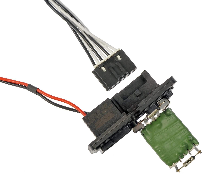 Blower resistor