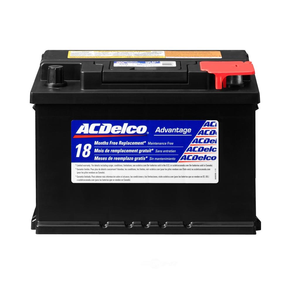 ACDELCO ADVANTAGE Std Automotive Battery 48A | OEWarehouse.com