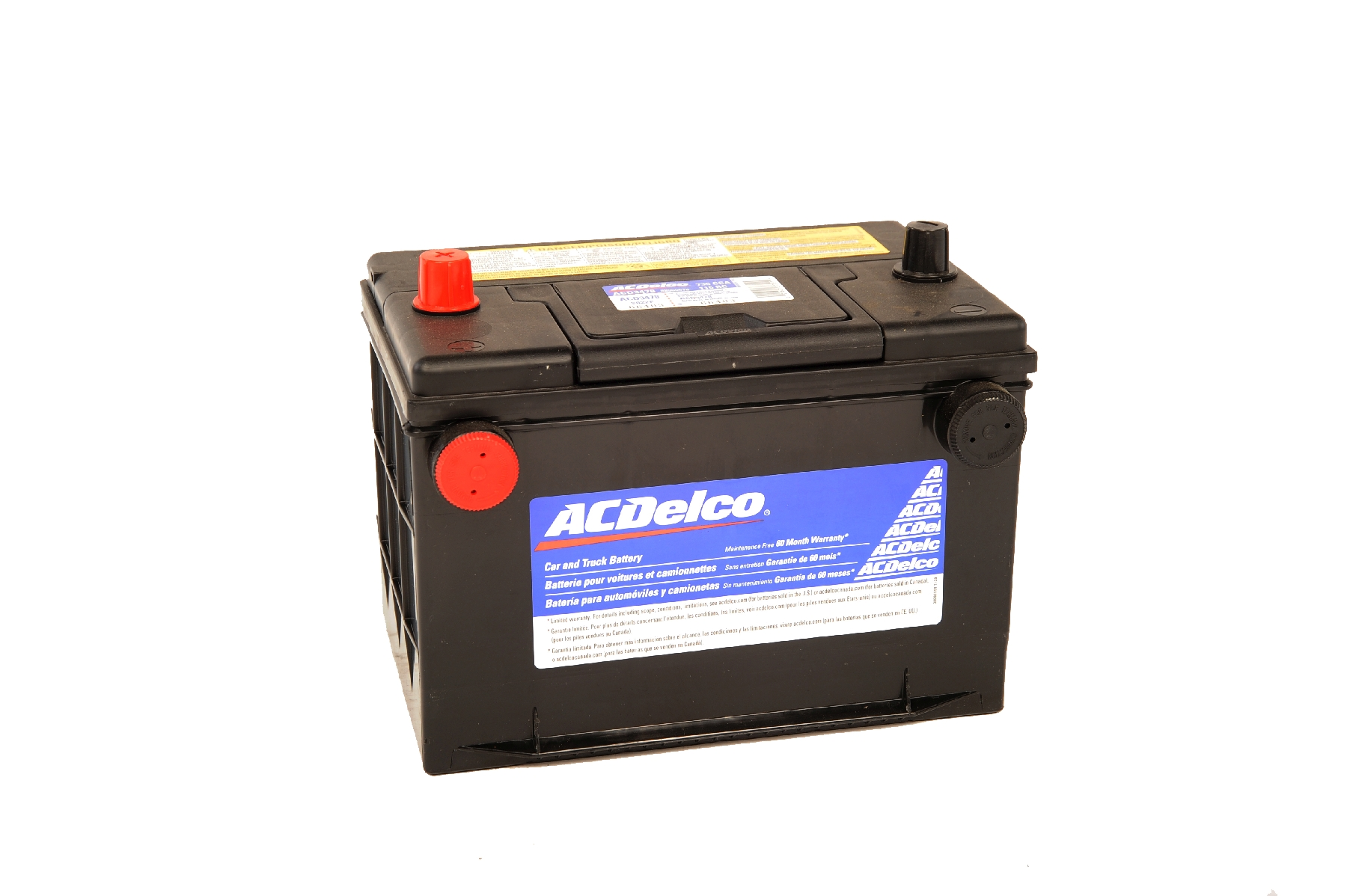 Acdelco 60 Series Battery Std Automotive Battery 34 78a