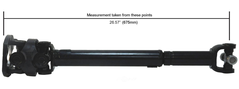 CARDONE/A-1 CARDONE - Reman Driveshaft/ Prop Shaft (Front) - A1C 65-9318