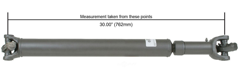 CARDONE/A-1 CARDONE - Reman Driveshaft/ Prop Shaft (Front) - A1C 65-9344