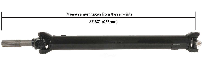 CARDONE/A-1 CARDONE - Reman Driveshaft/ Prop Shaft (Front) - A1C 65-9518