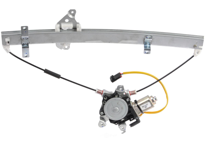 CARDONE NEW - Power Window Motor And Regulator Assembly - A1S 82-1351ER