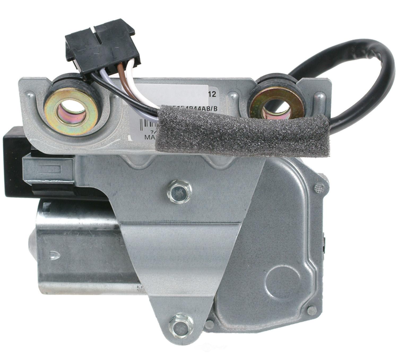 CARDONE NEW - Windshield Wiper Motor - A1S 85-444