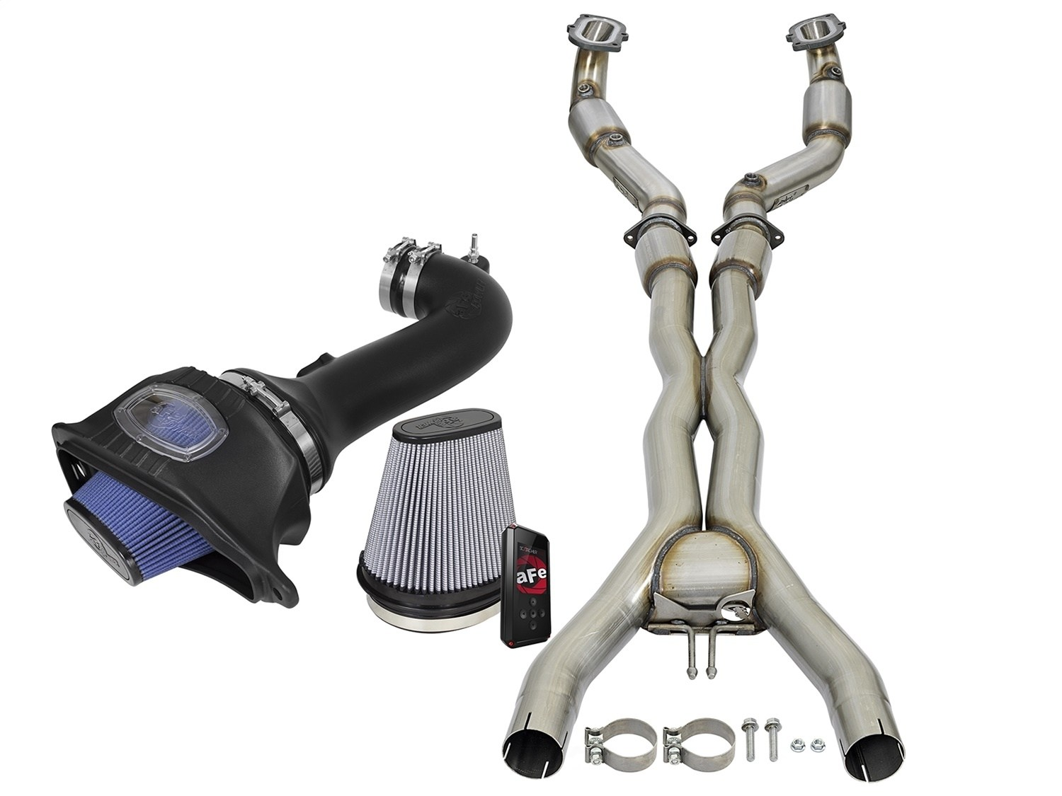 AFE POWER - SCORCHER PRO RACE Performance Package - A5F 77-34001-PL
