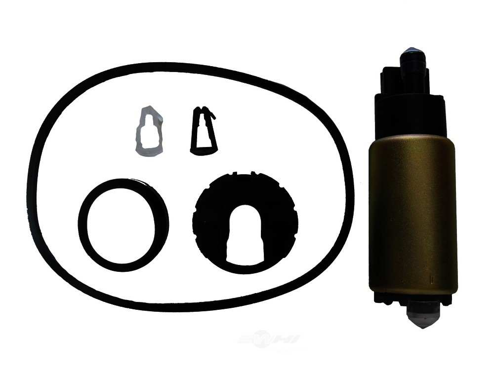 AUTOBEST - In Tank Electric Fuel Pump - ABE F1457