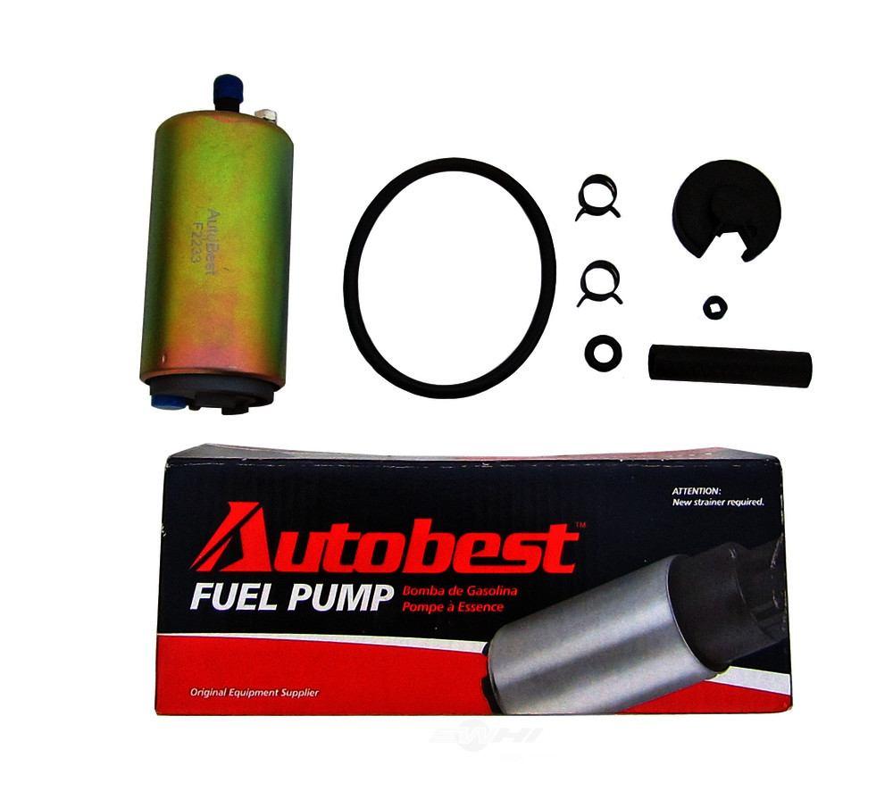 AUTOBEST - In Tank Electric Fuel Pump - ABE F2233