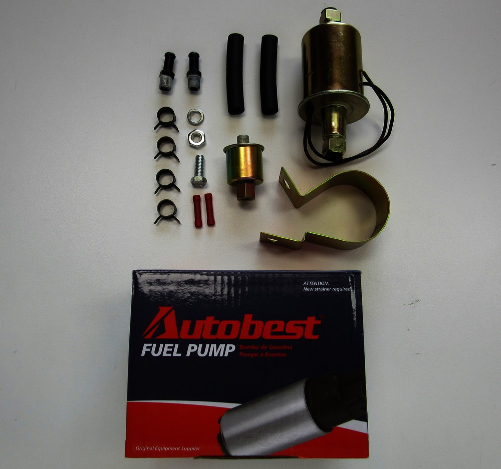 AUTOBEST - Externally Mounted Electric Fuel Pump - ABE F4027
