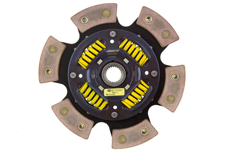 ADVANCED CLUTCH - 6 Pad Sprung Race Disc - ACH 6240608