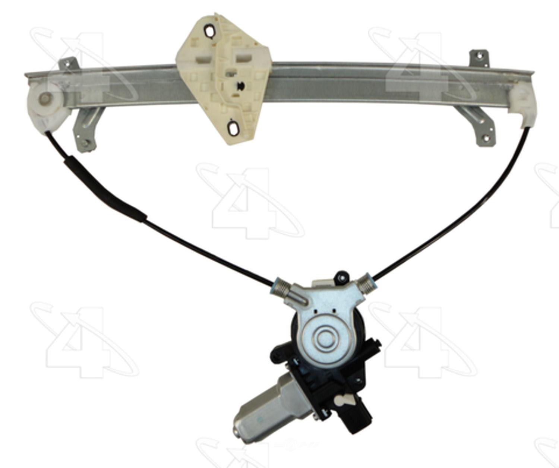 ACI/MAXAIR - Power Window Motor & Regulator Assembly - ACI 88536