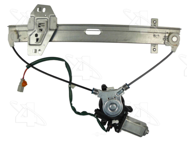 ACI/MAXAIR - Power Window Motor & Regulator Assembly - ACI 88557