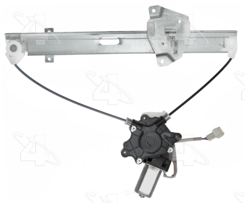 ACI\/MAXAIR - Power Window Motor & Regulator Assembly - ACI 88950