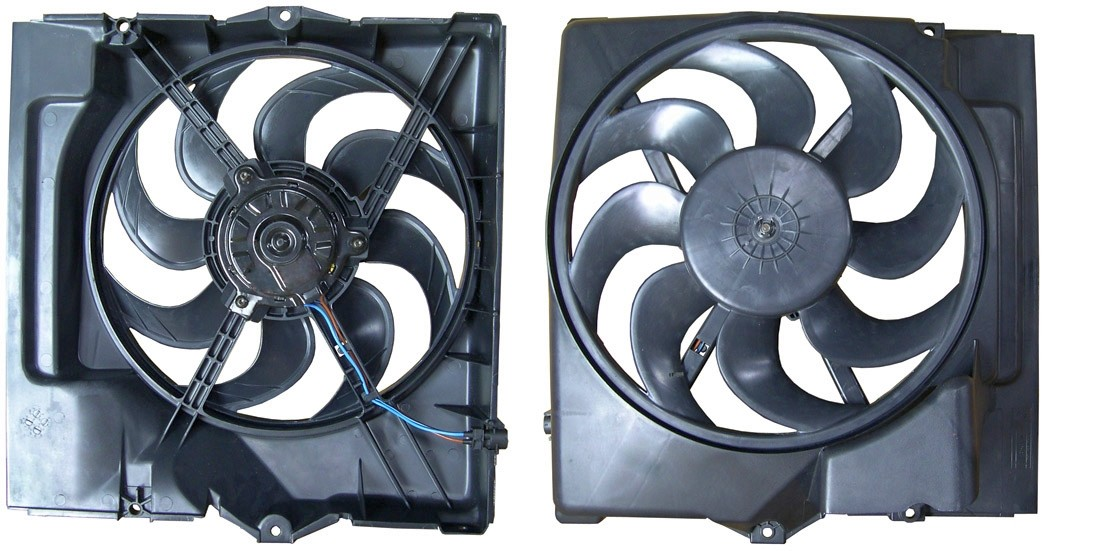 A//C Condenser Fan Assembly Spectra CF19015