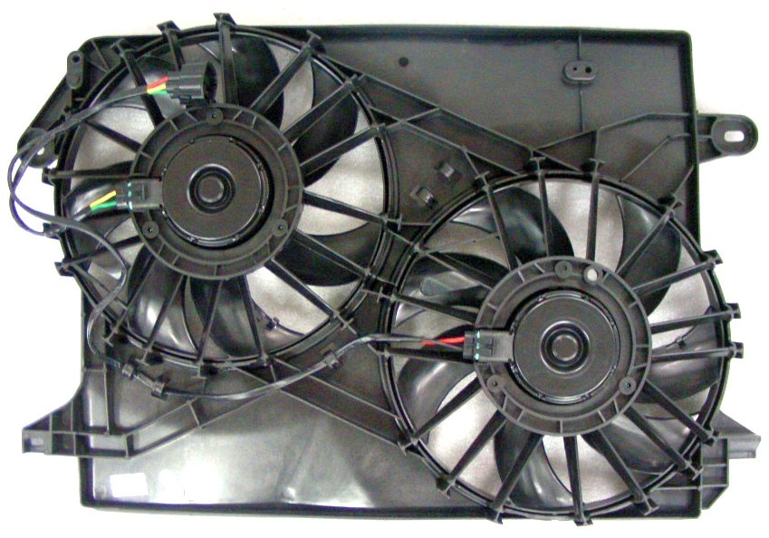 APDI - Dual Radiator & Condenser Fan Assembly - ADZ 6015103