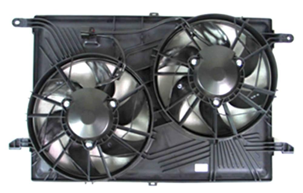 APDI - Dual Radiator & Condenser Fan Assembly - ADZ 6016152