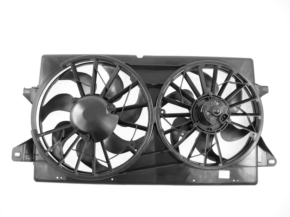 APDI - Dual Radiator & Condenser Fan Assembly - ADZ 6018122