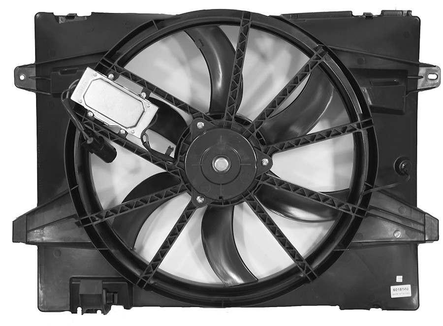 APDI - Dual Radiator & Condenser Fan Assembly - ADZ 6018140