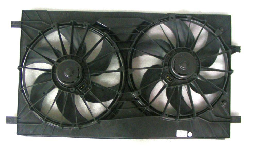 APDI - Dual Radiator & Condenser Fan Assembly - ADZ 6022113