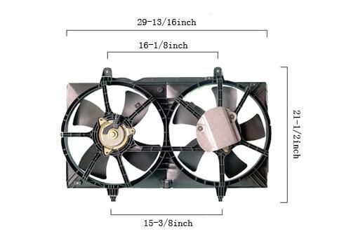 APDI - Dual Fan Assembly - ADZ 6029140