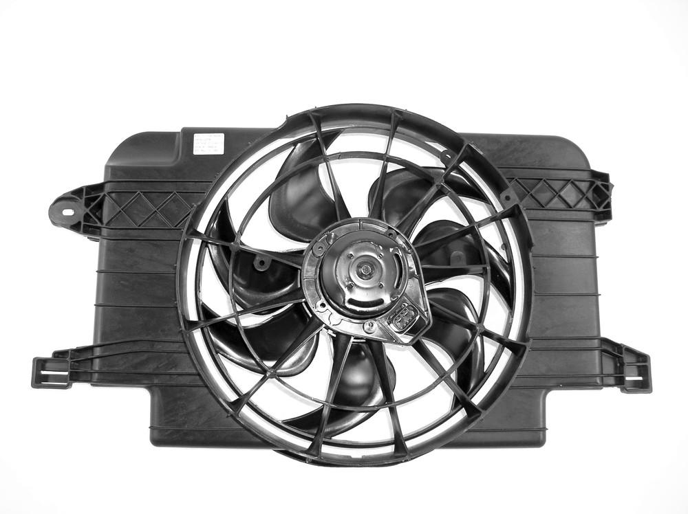 APDI - Dual Radiator & Condenser Fan Assembly - ADZ 6032101