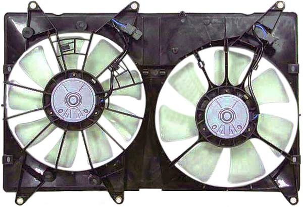 APDI - Dual Radiator & Condenser Fan Assembly - ADZ 6034520