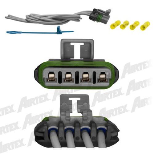AIRTEX ENG MGMT SYSTEMS(DELETE V24A01R1) - HVAC Blower Motor Resistor Connector - AEM 1P1560