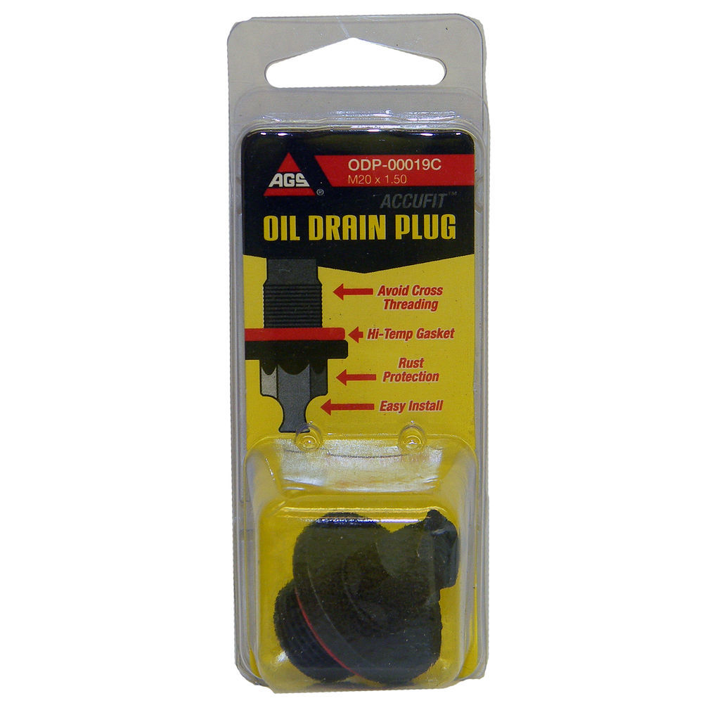 AGS COMPANY - Accufit Oil Drain Plug M20x1.50, Card - AGS ODP-00019C