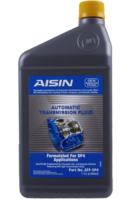 AISIN WORLD CORP. OF AMERICA - Auto Trans Fluid - AIS ATF-SP4