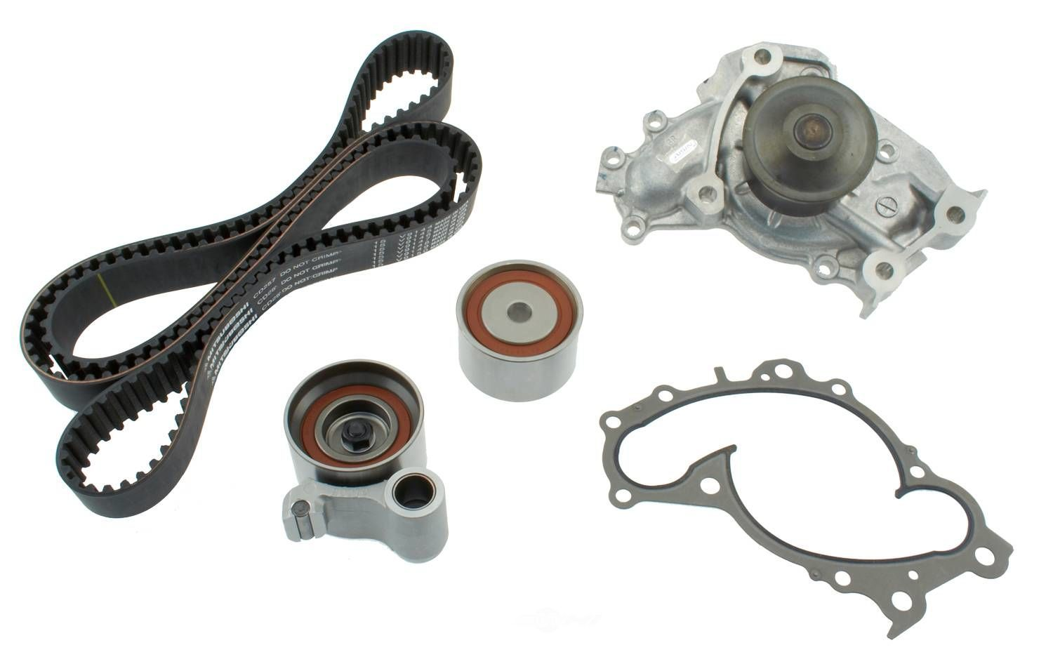 AISIN WORLD CORP. OF AMERICA - Engine Timing Belt Component Kit W/water Pump - AIS TKT-004