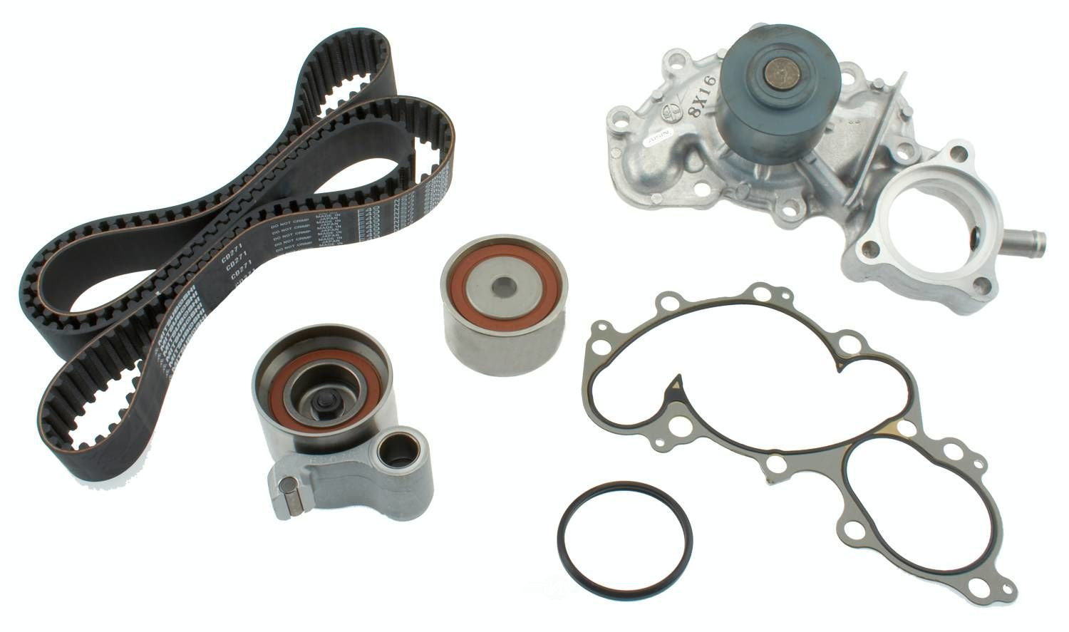 AISIN WORLD CORP. OF AMERICA - Engine Timing Belt Component Kit W/water Pump - AIS TKT-005