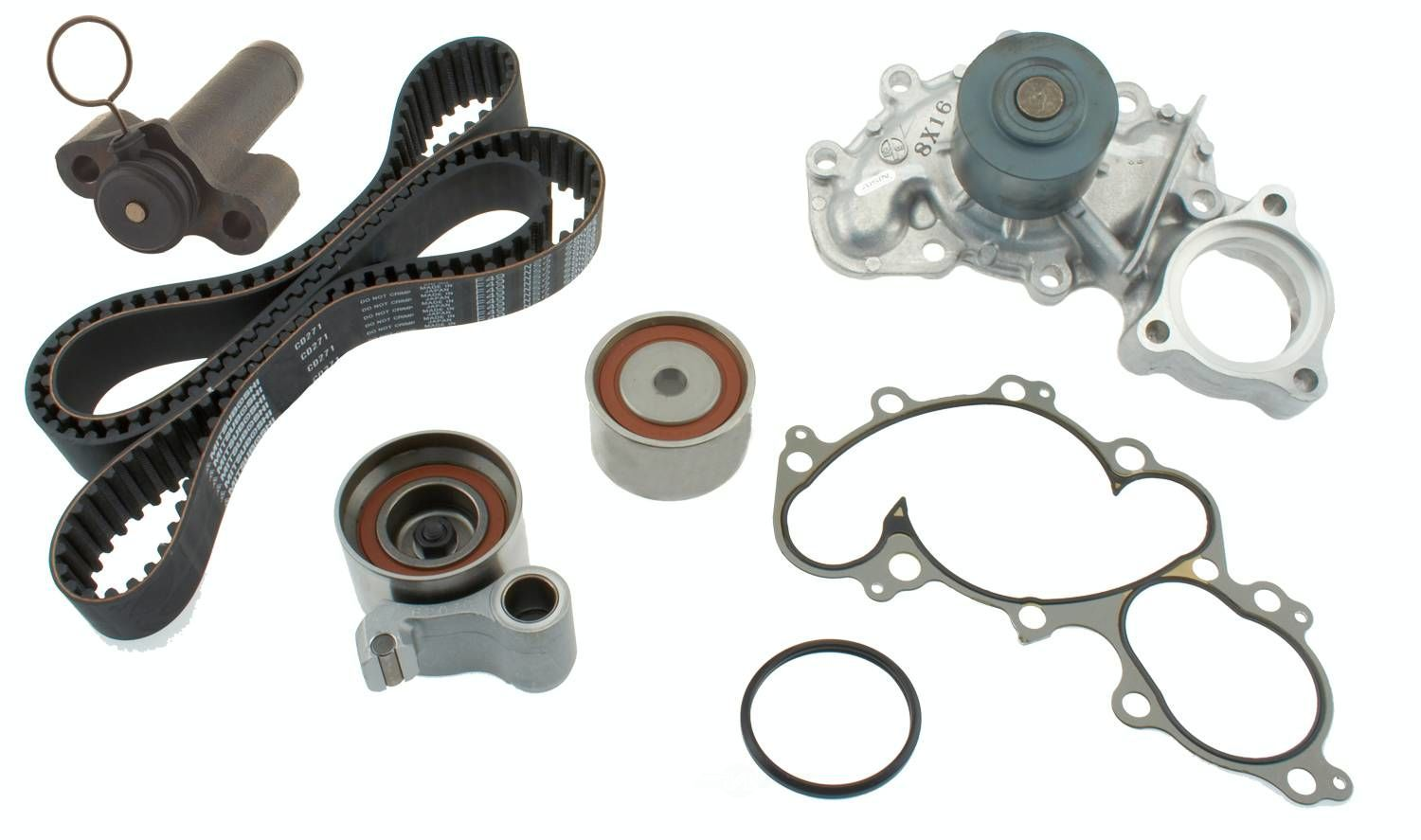 AISIN WORLD CORP. OF AMERICA - Engine Timing Belt Component Kit - AIS TKT-007