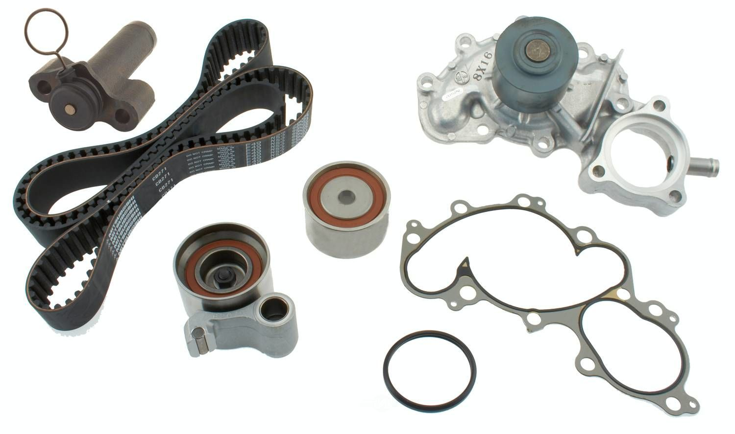 AISIN WORLD CORP. OF AMERICA - Engine Timing Belt Component Kit - AIS TKT-025