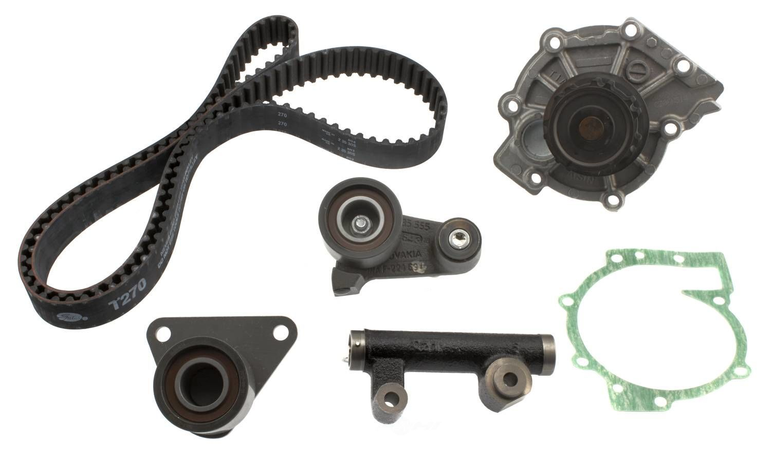 AISIN WORLD CORP. OF AMERICA - Engine Timing Belt Kit w/Water Pump - AIS TKV-006