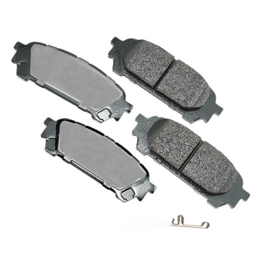 AKEBONO - ProACT Ultra Premium Ceramic Pads (Rear) - AKB ACT1004