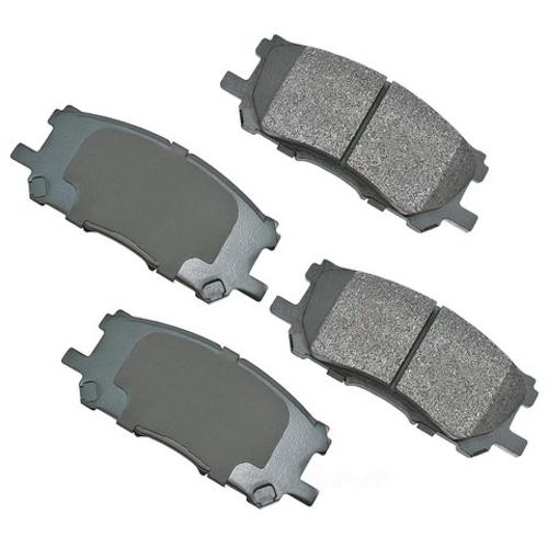 AKEBONO - ProACT Ultra Premium Ceramic Pads - AKB ACT1005