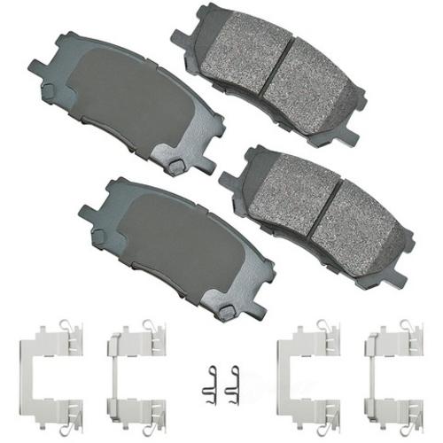 AKEBONO - ProACT Ultra Premium Ceramic Pads - AKB ACT1005A