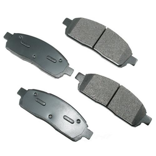 AKEBONO - ProACT Ultra Premium Ceramic Pads - AKB ACT1011