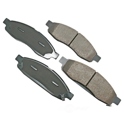 AKEBONO - ProACT Ultra Premium Ceramic Pads - AKB ACT1015