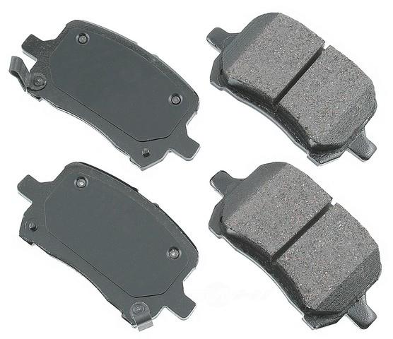AKEBONO - ProACT Ultra Premium Ceramic Pads - AKB ACT1028