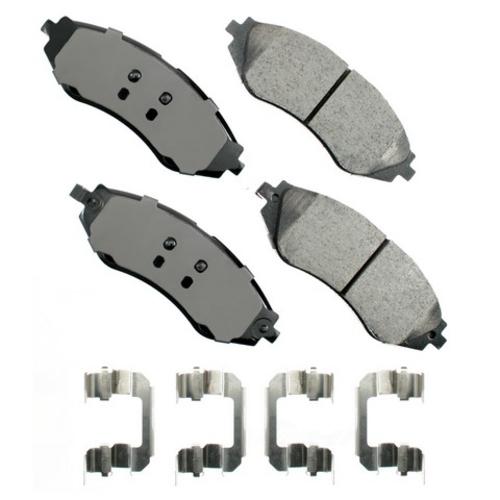 AKEBONO - ProACT Ultra Premium Ceramic Pads (Front) - AKB ACT1035