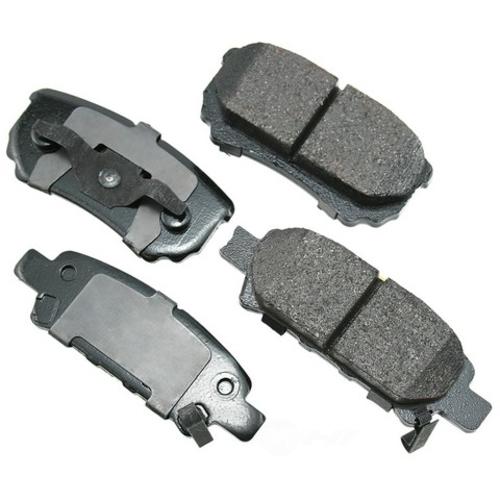 AKEBONO - ProACT Ultra Premium Ceramic Pads (Rear) - AKB ACT1037