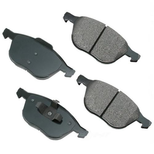 AKEBONO - ProACT Ultra Premium Ceramic Pads - AKB ACT1044