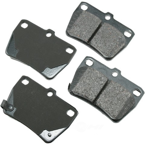 AKEBONO - ProACT Ultra Premium Ceramic Pads (Rear) - AKB ACT1051