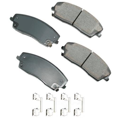 AKEBONO - ProACT Ultra Premium Ceramic Pads (Front) - AKB ACT1056