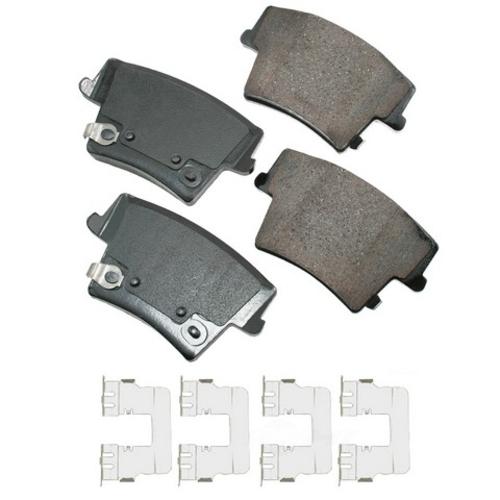 AKEBONO - ProACT Ultra Premium Ceramic Pads (Rear) - AKB ACT1057