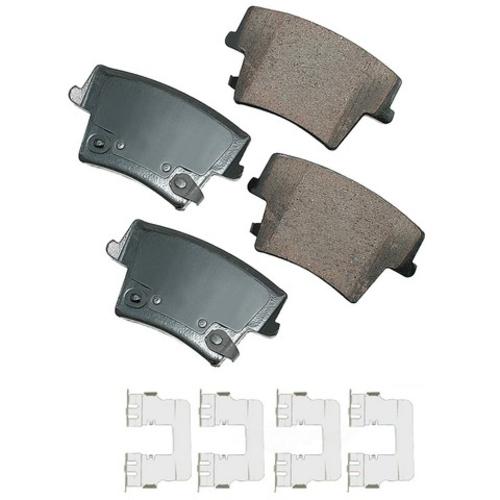 AKEBONO - ProACT Ultra Premium Ceramic Pads (Rear) - AKB ACT1057A