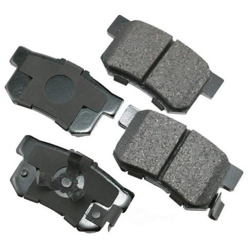 AKEBONO - ProACT Ultra Premium Ceramic Pads (Rear) - AKB ACT1086