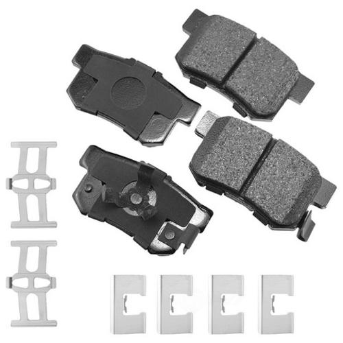 AKEBONO - ProACT Ultra Premium Ceramic Pads (Rear) - AKB ACT1086A