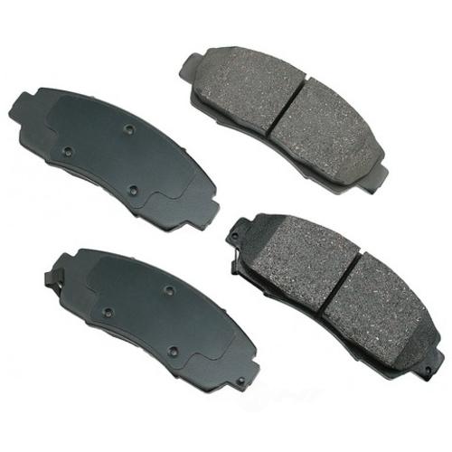 AKEBONO - ProACT Ultra Premium Ceramic Pads (Front) - AKB ACT1089