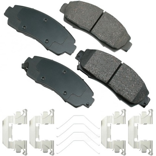 AKEBONO - ProACT Ultra Premium Ceramic Pads (Front) - AKB ACT1089A